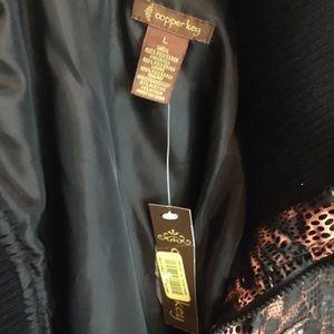 Copper Key Jackets & Coats - Copper Key Cheetah Vest